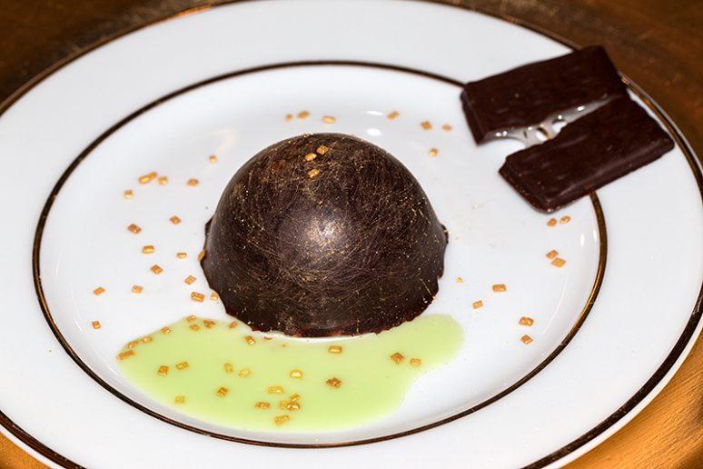 dômes menthe-chocolat