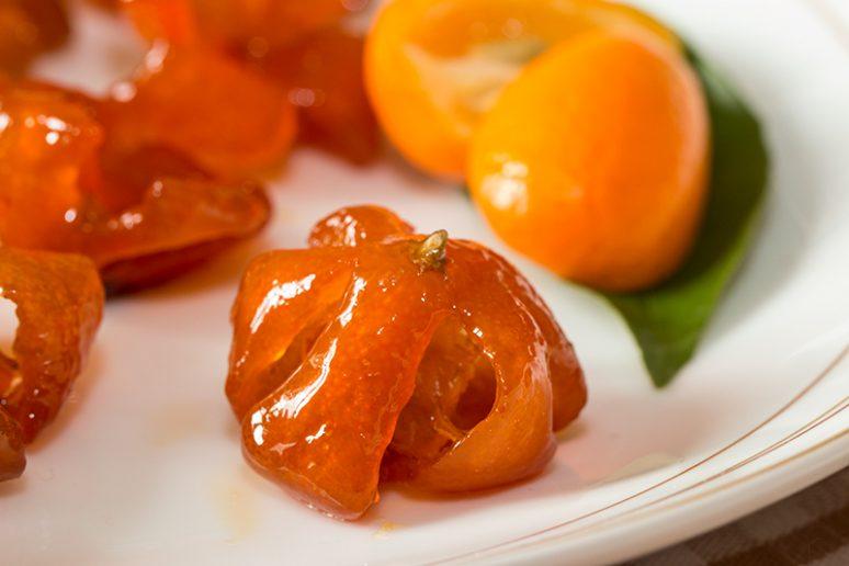 kumquats confits