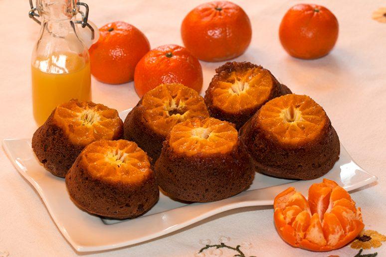 muffins mandarine-chocolat