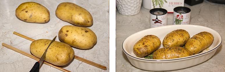 restes pommes de terre en robe des champs