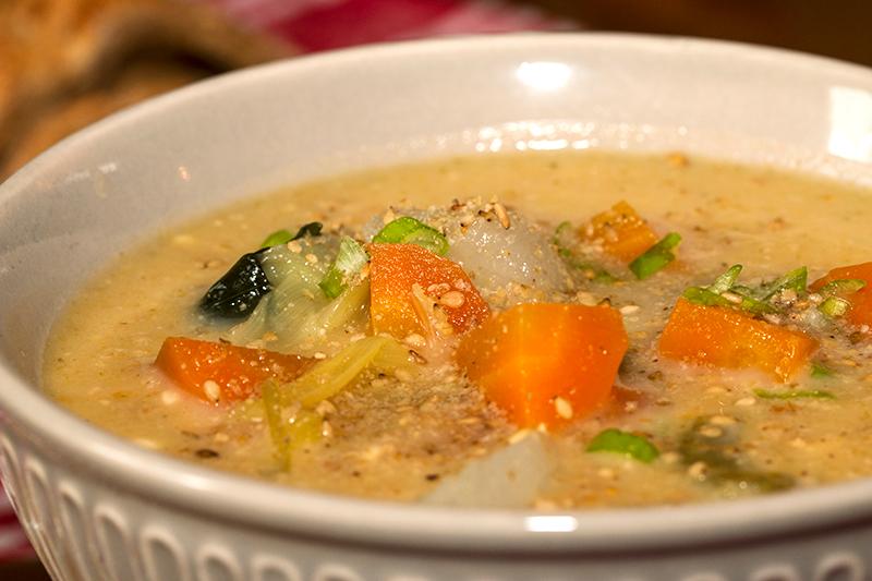 Soupe paysanne la cr me de miso - Soupe miso ingredient ...