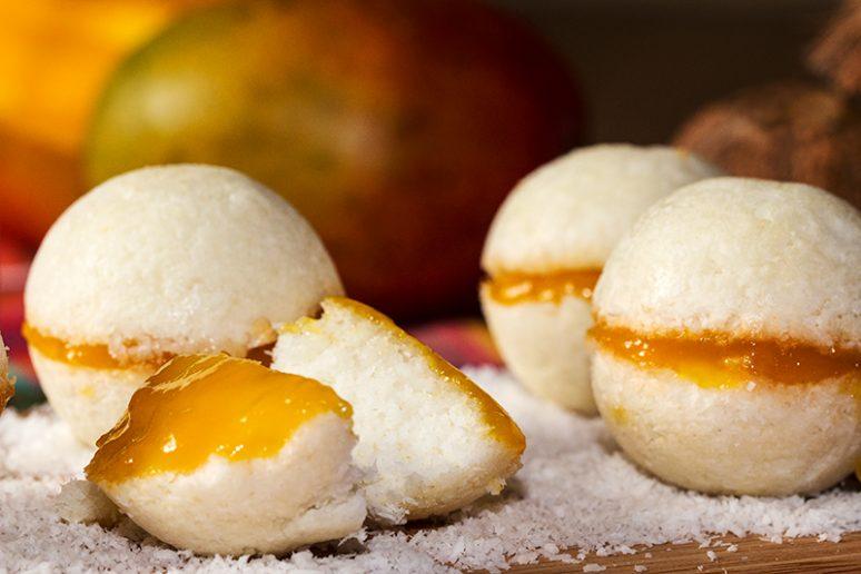 Boules coco mangue
