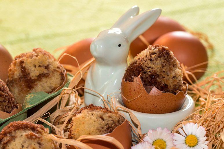 œufs marbrés