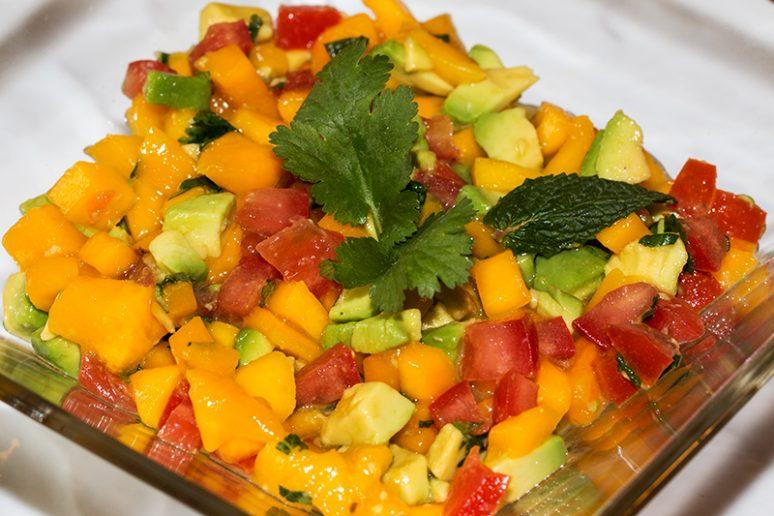 salsa à la mangue