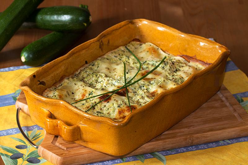 Lasagnes Aux Courgettes Et Saumon Fume