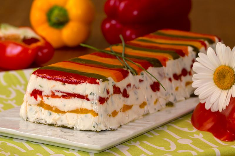 Cake Aux Poivrons Chevre