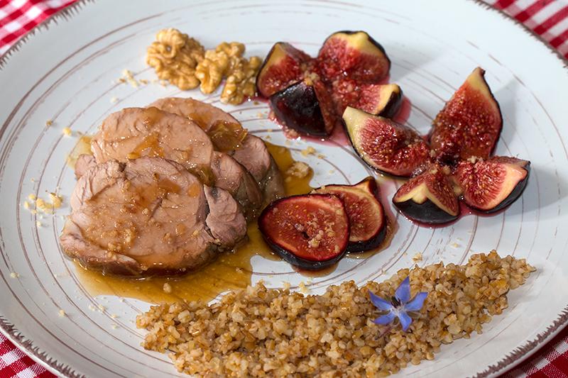 Filet Mignon De Porc Au Miel Et Aux Figues Confites La Cuisine De