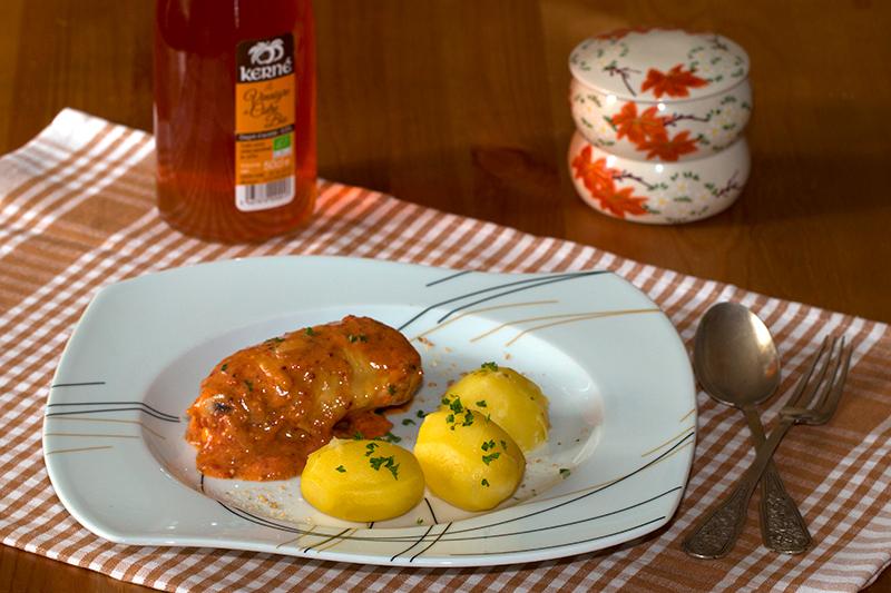 Poulet au vinaigre la lyonnaise la cuisine de jackie - Specialite lyonnaise cuisine ...