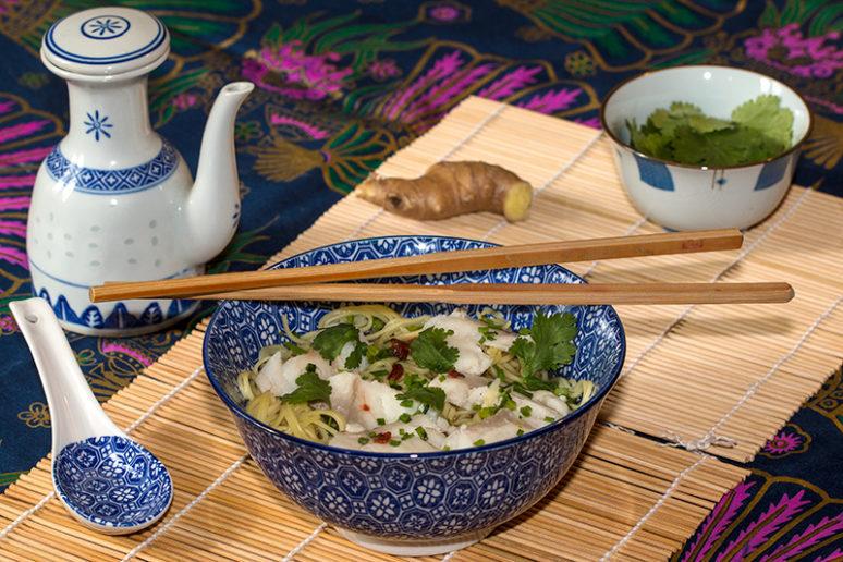 soupe de poisson Thaï