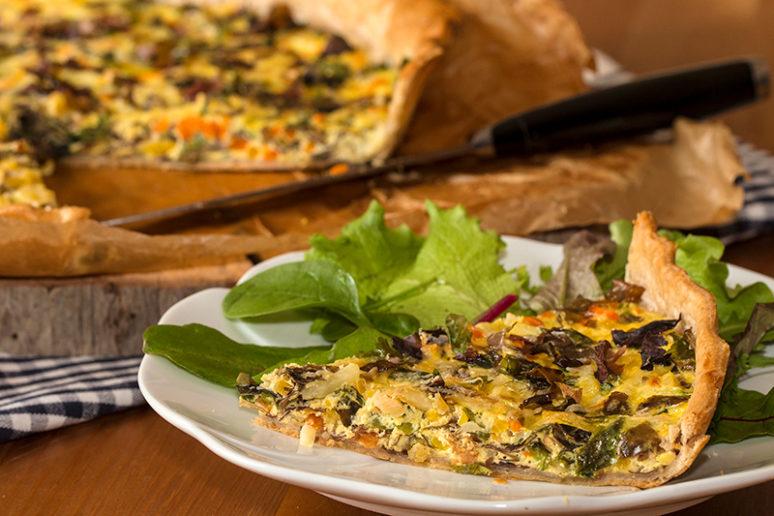 tarte aux algues
