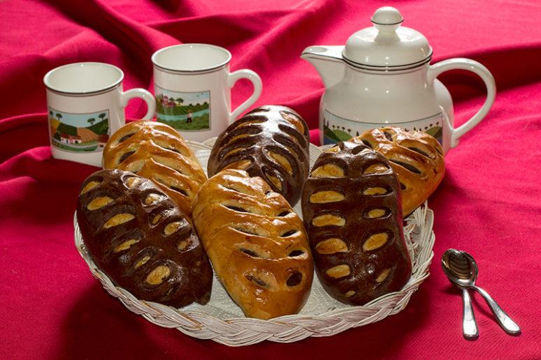 pains au lait bicolores