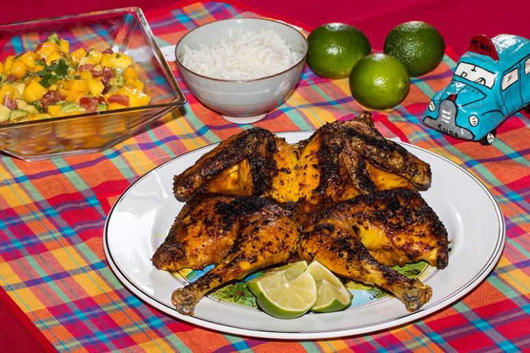 poulet asado