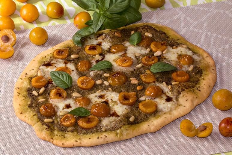 pizza aux mirabelles