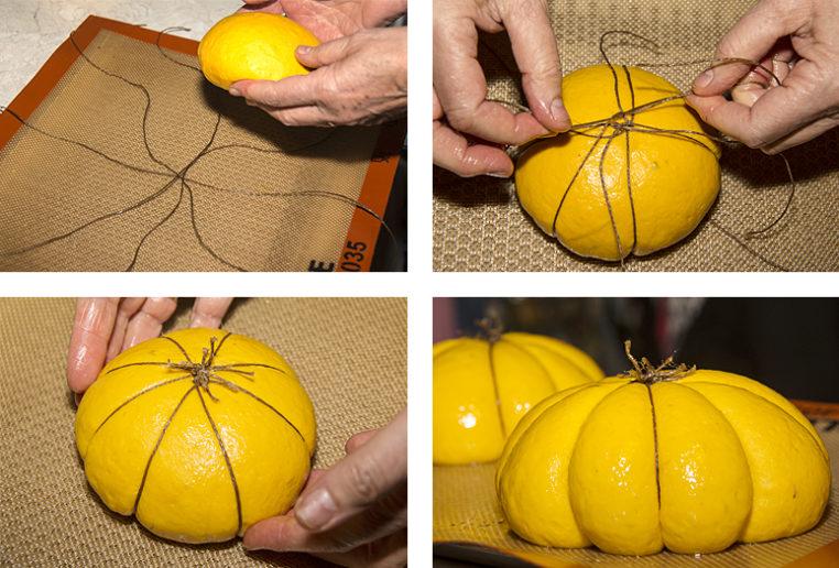 pain citrouille