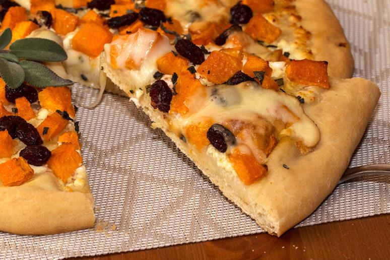 pizza à la butternut