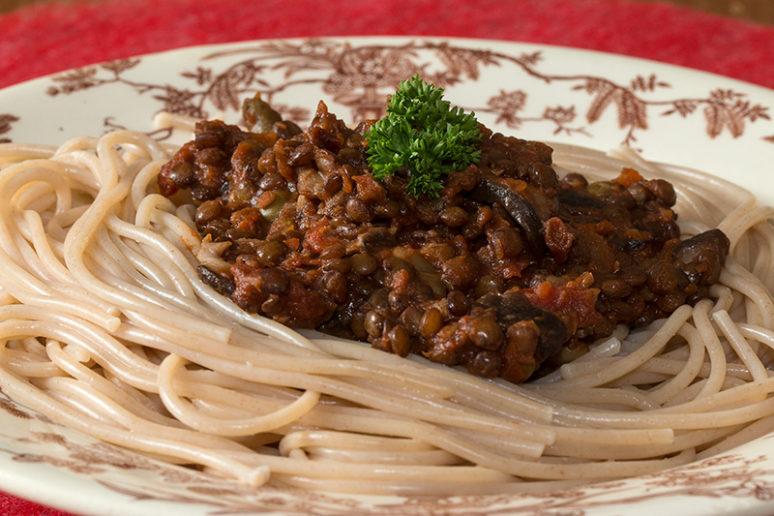 Spaghettis d'épeautre