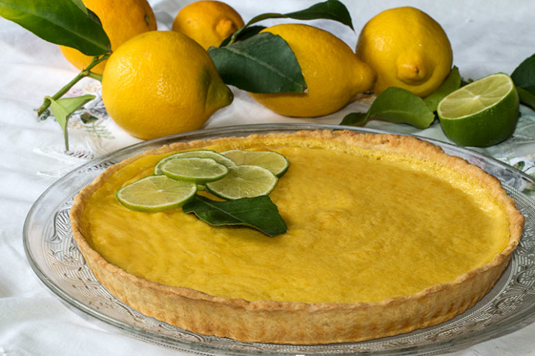 tarte amandine citron