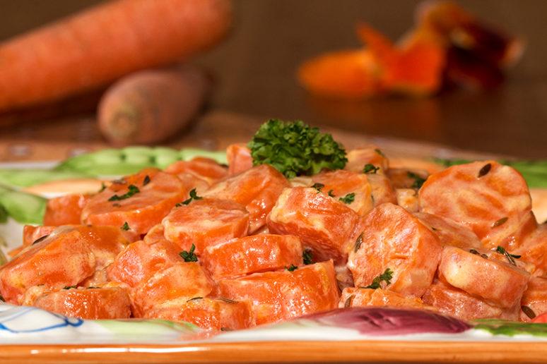 carottes à la crème