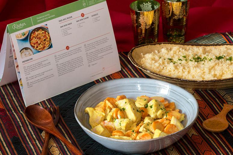 Poulet au curry façon Kitchendaily