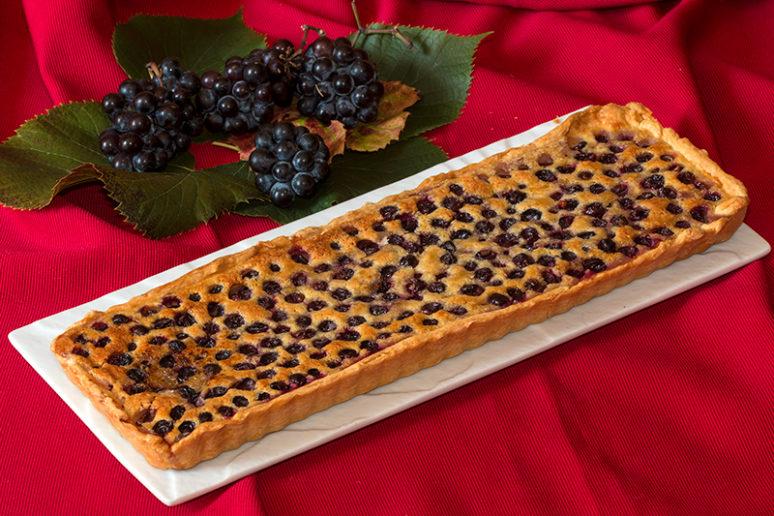 tarte aux raisins