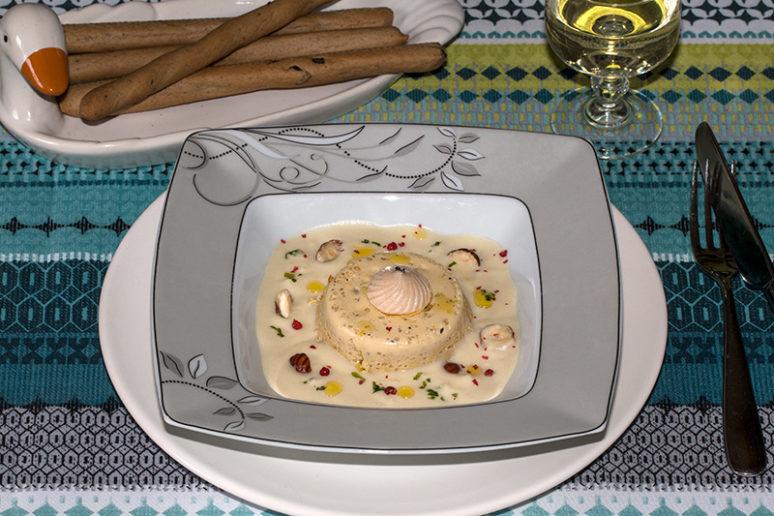 flans de foie gras