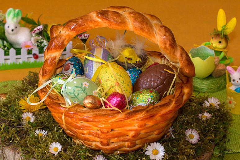 Panier de Pâques