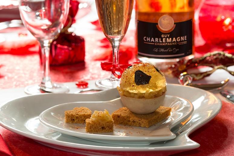 Boule De Foie Gras Et Sa Gele De Champagne Truffe