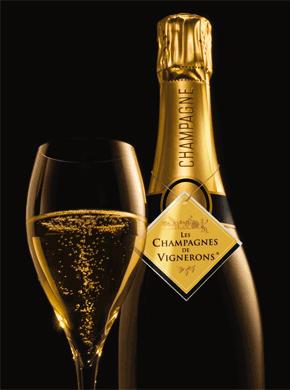 champagnes de vignerons une bouteille de champagne gagner. Black Bedroom Furniture Sets. Home Design Ideas
