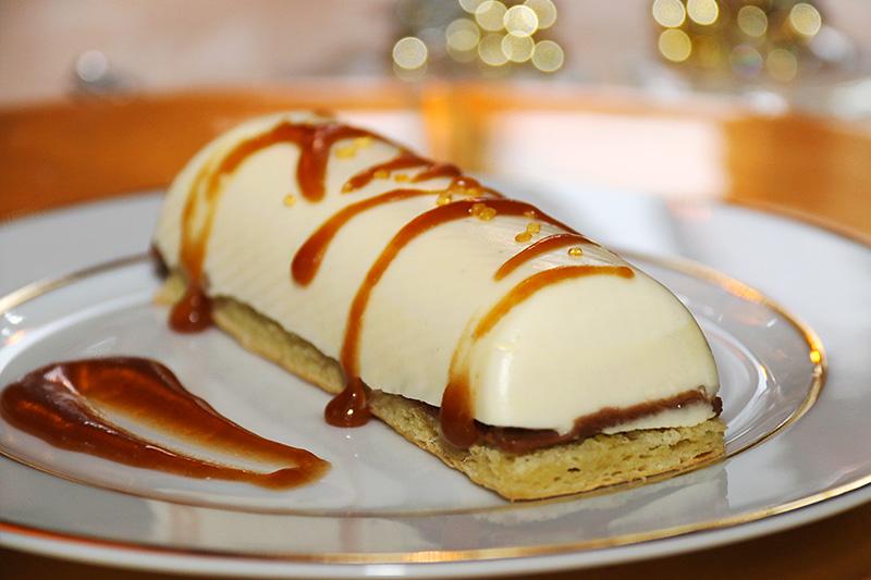 Tarte vanille caramel beurre sale