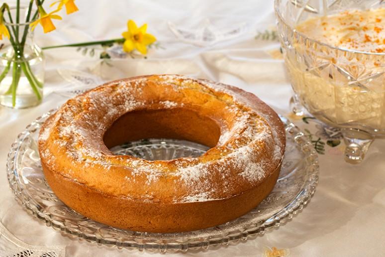 gâteau moulé