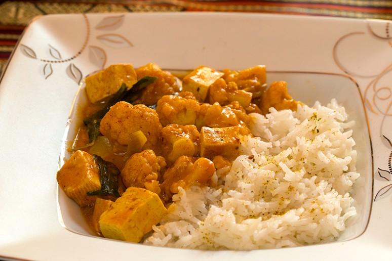 tofu korma