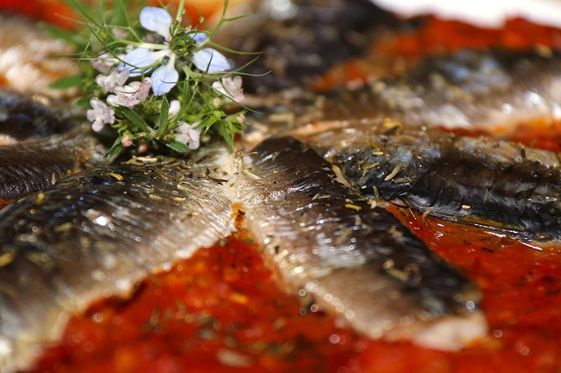 Pizza aux sardines fra ches la cuisine de jackie - Cuisiner des filets de sardines fraiches ...