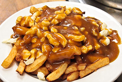Poutine savoyarde for Authentic canadian cuisine