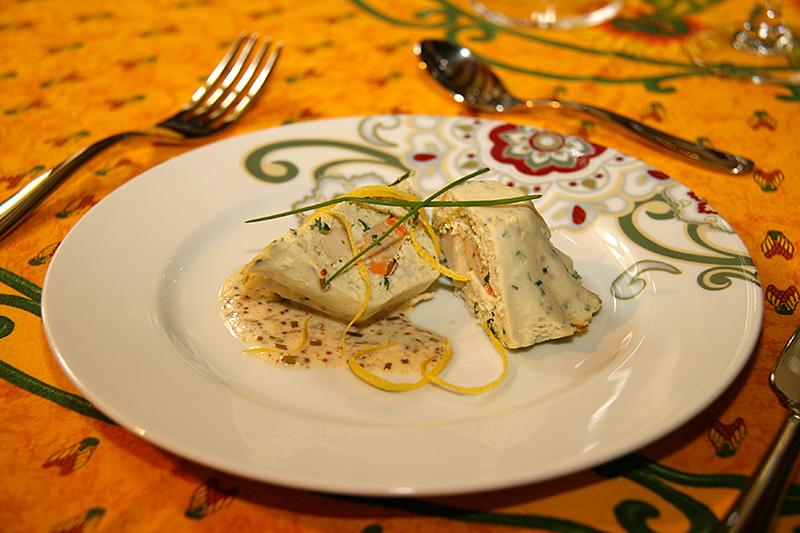 Terrine de poisson aux coquilles st jacques la cuisine for Saint jacques cuisine